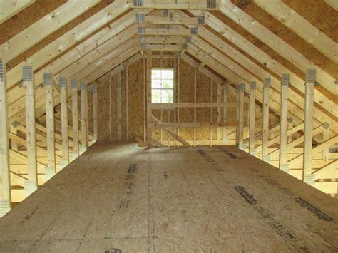 stick built residential garages  maine
