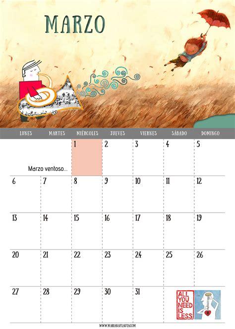 calendario marzo 2017 ya vienen los reyes calendario musical 2017