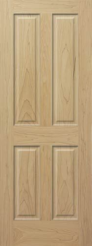 Poplar Interior Doors Poplar 4 Panel Wood Interior Doors Homestead Doors