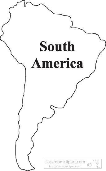 and south america outline map country maps clipart south america outline map clipart