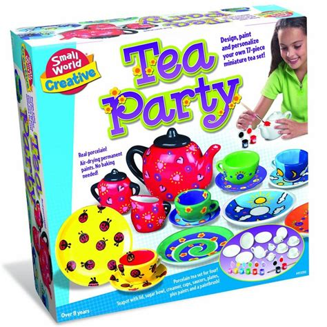 craft set for paint tea set craft kit for educational toys planet