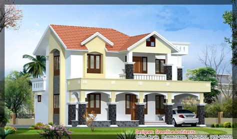 kerala home design front elevation new kerala house plans with front elevation