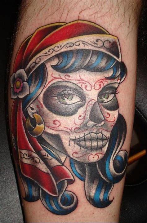 dia de los muertos tattoo dia de los muertos