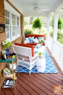 porch decorating ideas southern front porch via the home depot style challenge