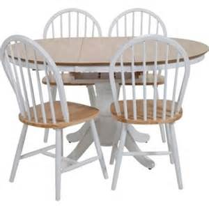 white 4 chairs dining set homebase co uk
