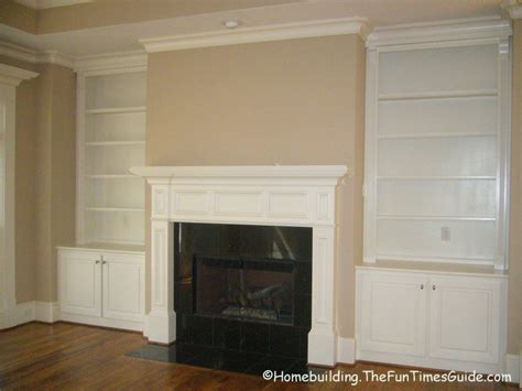 Woodwork Built In Bookcase Fireplace Plans Pdf Plans Fireplace Built In Bookshelves