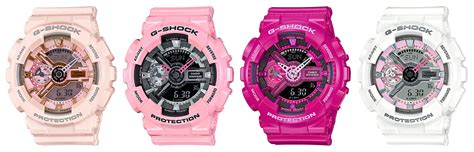 Baby G Ga 110 Pink g shock gma s110mp pink s series watches