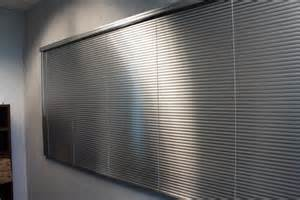Silver Mini Blinds Aluminum Blinds 2017 Grasscloth Wallpaper