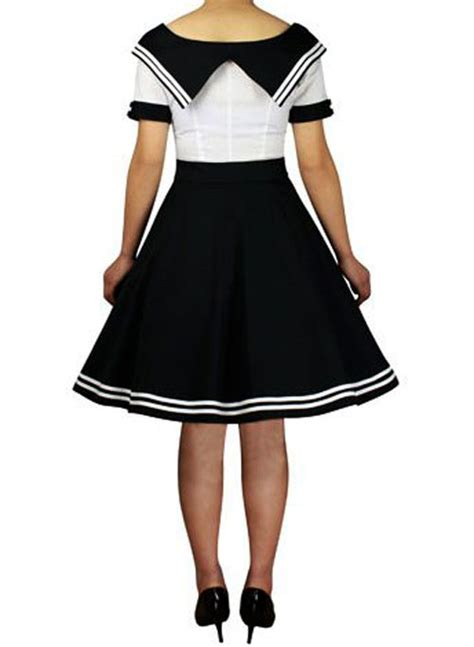 swing costumes rk81 rockabilly sailor retro nautical costume dress pin up