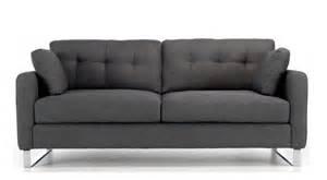 grey sofa berlin 2 seater sofa grey modern co uk