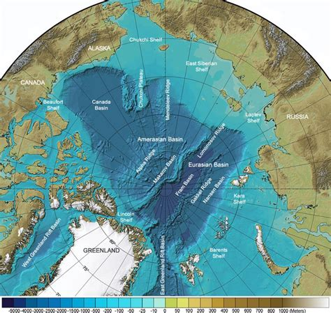 Arctic Continental Shelf by Canada To Submit Its Arctic Continental Shelf Claim In 2018
