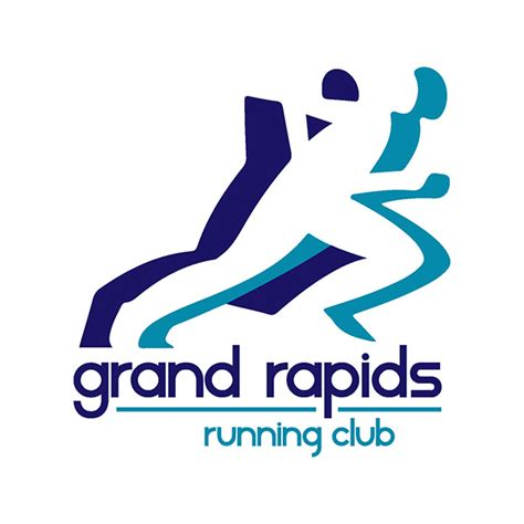 design a running logo grand rapids running club on behance