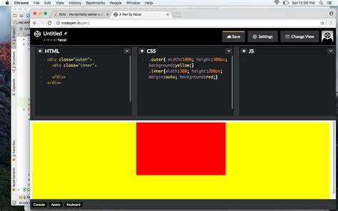 center a div horizontally html how to horizontally center a stack overflow