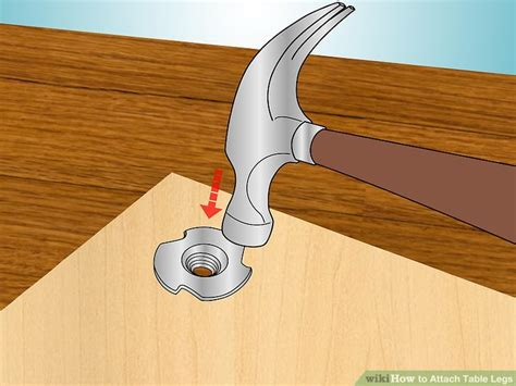 attach to table how to attach table legs 12 steps with pictures wikihow
