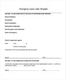 Sick Leave Policy Template by 11 Leave Letter Templates Free Sle Exle Format