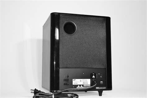 Speaker Subwoofer Samsung Samsung Hw F750 Soundbar Review Audioholics
