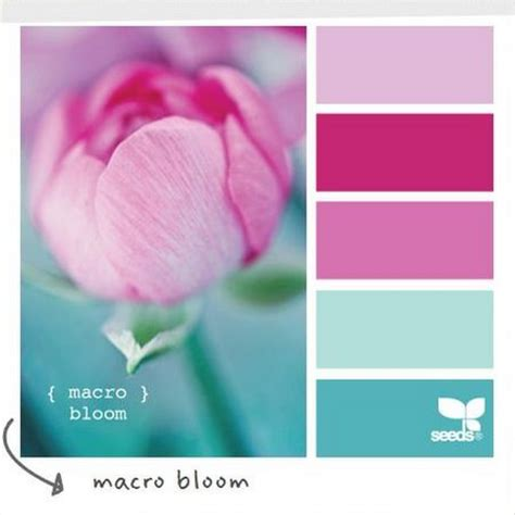 color palate could be interesting for girly office or she shed girly girl