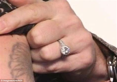 the engagement ring johnny depp gave amber heard was too