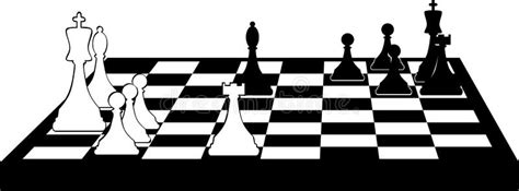 chess clipart chessboard clip stock vector illustration of