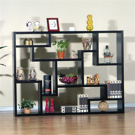 furniture of america mandy bookcase room divider