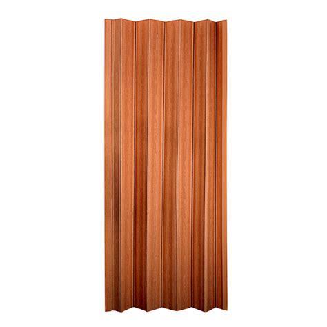 Closet Doors Accordion Shop Spectrum Oakmont Pecan Hollow 1 Panel Accordion Interior Door Common 36 In X 80 In