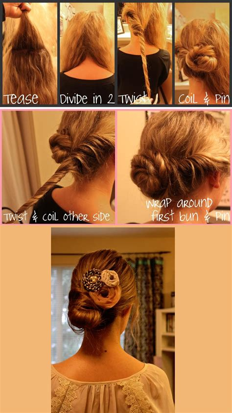low bun hairstyles at home low bun hair tutorial hairstyles how to