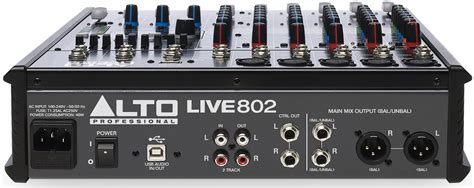 Mixer Alto Live alto live 802 8 channel mixer with effects usb astounded