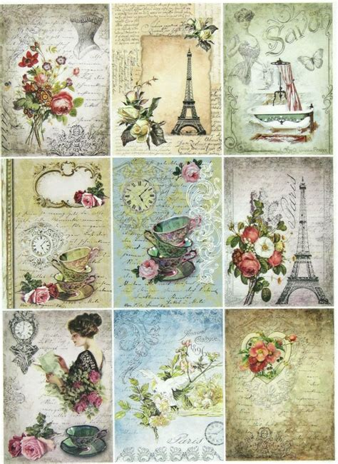 Decoupage Templates - 25 unique decoupage paper ideas on diy