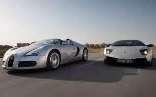 What Is Faster A Bugatti Or A Lamborghini Bugatti Veyron 16 4 Grand Sport Vs Lamborghini Murcielago