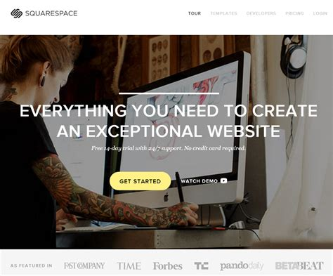 Squarespace Review 2014 The Best Squarespace Templates Best Squarespace Template For Writers