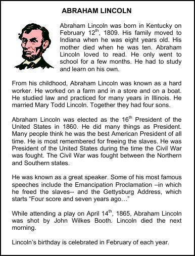 questions on biography of abraham lincoln christian homeschool hub abraham lincoln resources