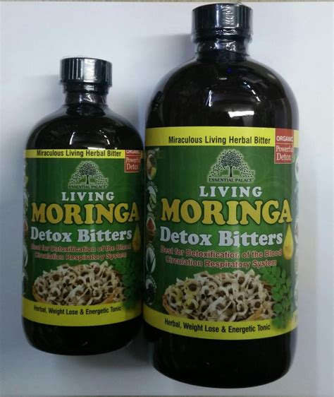 Black Seed Detox by Bitters Moringa Living Detox Essential Palace Inc