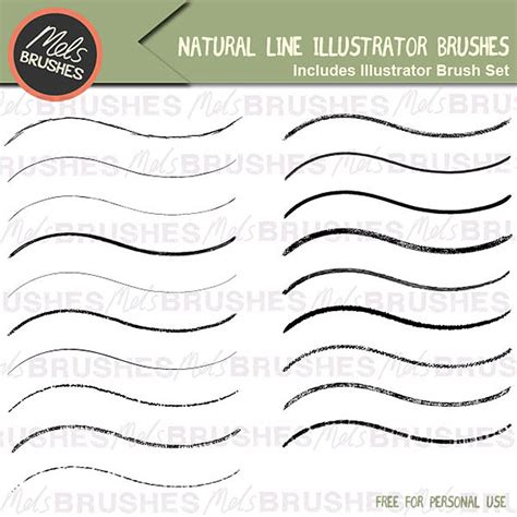 free doodle line brushes 25 adobe illustrator brush sets you can for free