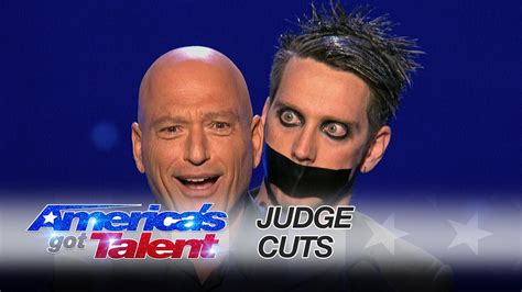 Tape Face Performs Mime Show With Howie Mandel On America ...