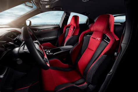 honda civic 2017 type r interior 2018 civic type r is here unpacks 316 horses
