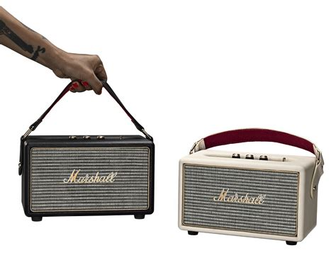 Speaker Portable Atau Bloetooth S815 marshall cuts the cord for the company s portable bluetooth speaker