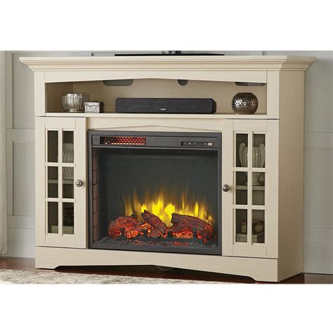 electric fireplace tv stand home depot home decorators collection avondale grove 48 in tv stand