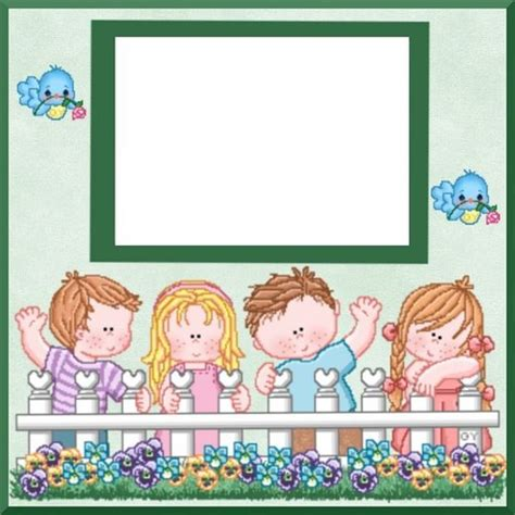 Tarjetas Infantiles Para Imprimir Con Marcos   tarjetas infantiles para imprimir con marcos