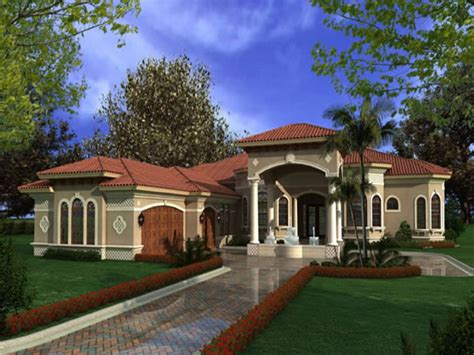 luxury one story mediterranean house plans mediterranean homes luxury kitchens one story home