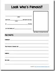 fact file template on a person notebook and worksheets archives homeschool creations