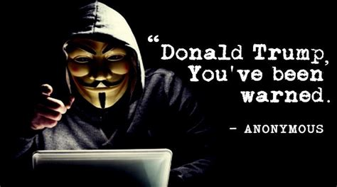 theme line anonymous anonymous to trump quot you are going to regret the next four