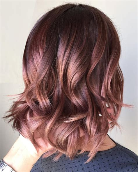 new hair color styles caramel hair color ideas for fall winter 2017
