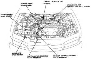 1994 honda accord speedometer electrical problem 1994