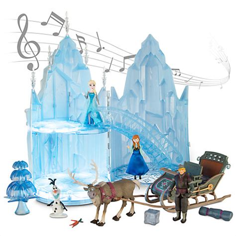 set gamis frozen elsa no 5 5 6thn castle elsa olaf sven kristoff light up musical