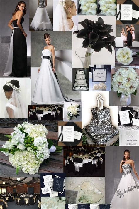 themes black white black and white wedding dresses glamourous gowns