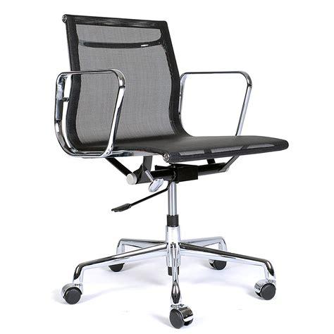 bureau eames fauteuil de bureau eames mid back maille mellcarth
