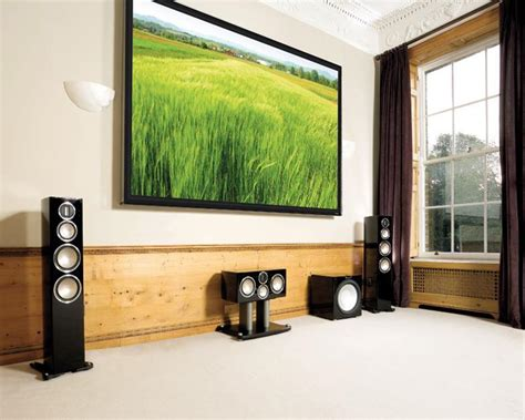 high   home theater system  monitor audio gold