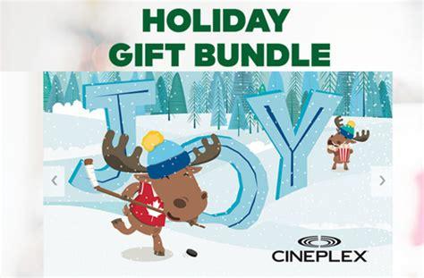 cineplex holiday gift bundle cineplex holiday gift bundle 2017 deals from savealoonie
