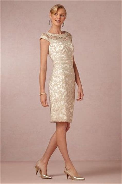 Cocktail Party Etiquette Rules - gold taupe and neutral mother of the bride dresses