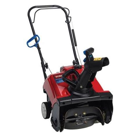 toro power clear 518 ze 18 in single stage gas snow